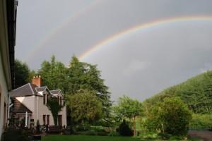 Rainbow over Green Hope