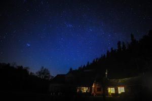Greenhope - the stars at night